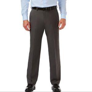Haggar Classic Fit Plain Front Dress Pants